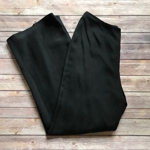 Anthropologie Flores Silk High Waist Dress Pants